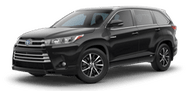 New Toyota Highlander Hybrid at Lexington