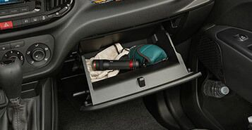 Locking Glove Box