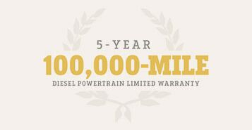 100,000 Mile Powertrain Limited Warranty