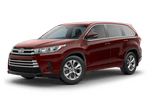 New Toyota Highlander at Mesa