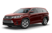 New Toyota Highlander at Canonsburg