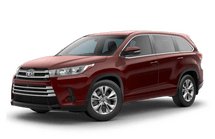 New Toyota Highlander at Pocatello