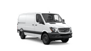New Mercedes-Benz Sprinter Worker Cargo Van at Montgomery