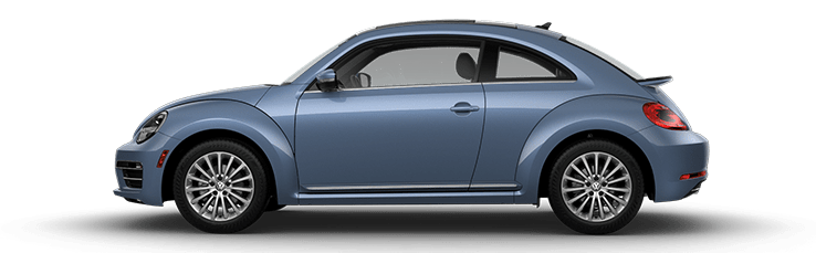 New Volkswagen Beetle near Los Angeles