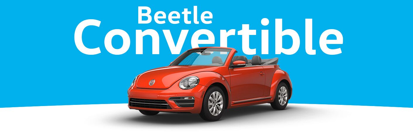 New Volkswagen Beetle Convertible Everett, WA