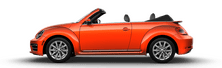 New Volkswagen Beetle Convertible at McMinnville