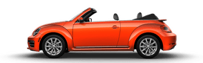 New Volkswagen Beetle Convertible near South Jersey