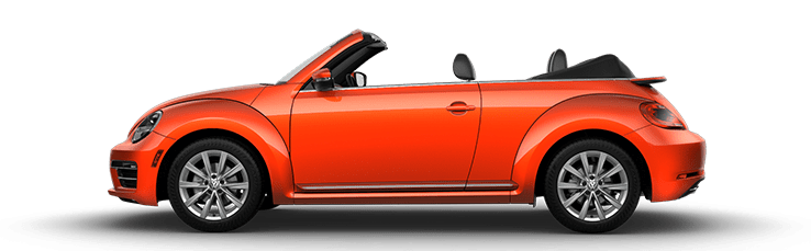 New Volkswagen Beetle Convertible near Los Angeles