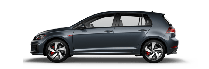 New Volkswagen Golf GTI near Los Angeles