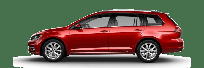 New Volkswagen Golf SportWagen near Los Angeles