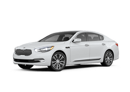 New Kia K900 at Akron