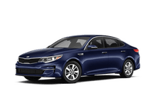 New Kia Optima at Miami