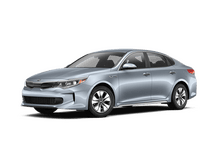 New Kia Optima Hybrid at Miami