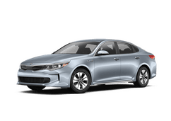 New Kia Optima Hybrid at Swansea