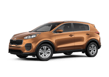 New Kia Sportage at Miami