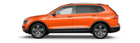 New Volkswagen Tiguan at Longview
