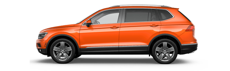 New Volkswagen Tiguan near Longview