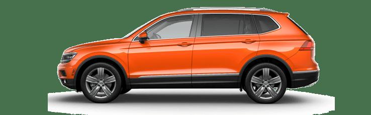 New Volkswagen Tiguan near Los Angeles