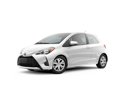 New Toyota Yaris at Oroville