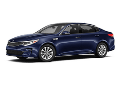 New Kia Optima at Pendleton