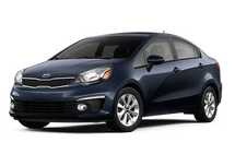 New Kia Rio at Escondido