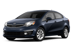 New Kia Rio at Puyallup