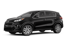 New Kia Sportage at Escondido