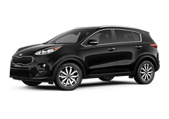New Kia Sportage at Liverpool