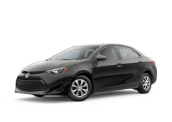 New Toyota Corolla at Green Bay