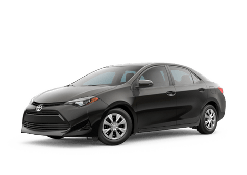 New Toyota Corolla at Oroville