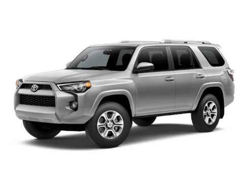 New Toyota 4Runner at Oroville
