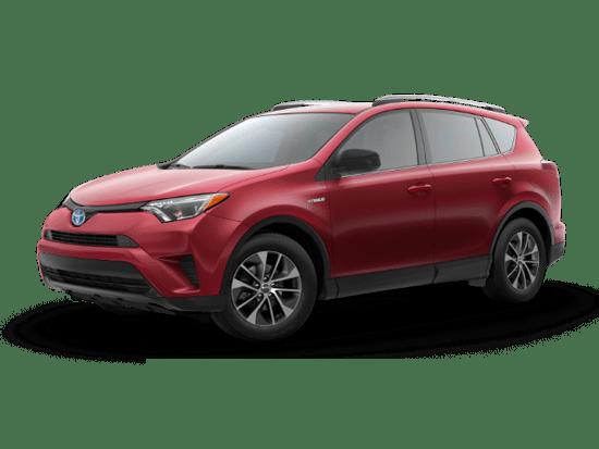 2018 RAV4 Hybrid LE Plus