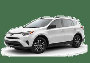 New Toyota RAV4 at Petaluma
