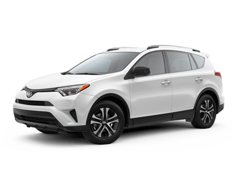 New Toyota RAV4 at Oroville