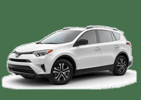New Toyota RAV4 in
