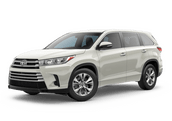 New Toyota Highlander at Hattiesburg