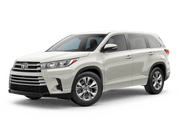 New Toyota Highlander at Holland