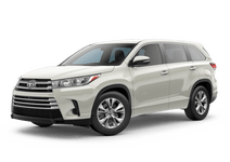 New Toyota Highlander at Palatine