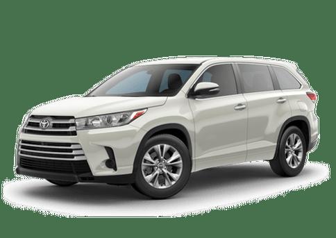 New Toyota Highlander in