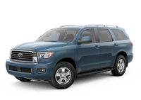 New Toyota Sequoia at Fallon