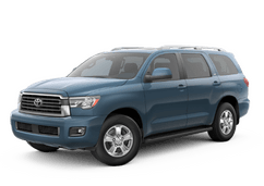 New Toyota Sequoia at Birmingham