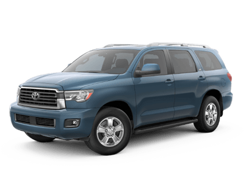 New Toyota Sequoia at Oroville