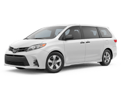 New Toyota Sienna at Green Bay