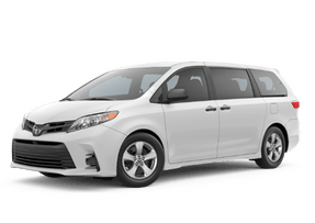 New Toyota Sienna at Petaluma