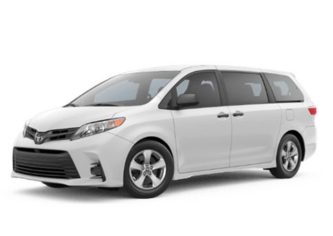New Toyota Sienna at Oroville