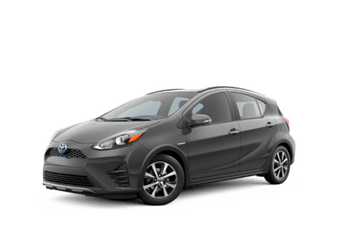 New Toyota Prius c at Oroville