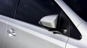 Power-folding and heated outside mirrors