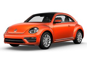 New Volkswagen Beetle at Austin