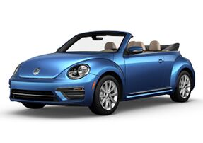 New Volkswagen Beetle Convertible at Austin