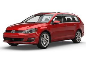 New Volkswagen Golf SportWagen at Austin